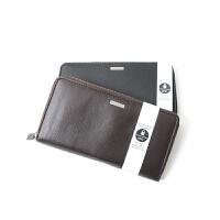 Calvin Klein钱包CK男士长款商务钱包 时尚拉链手拿包男钱夹老板包79441