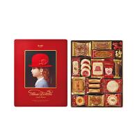 红帽子什锦曲奇饼干礼盒 红色礼盒516g 日本进口休闲零食巧克力糖果伴手礼