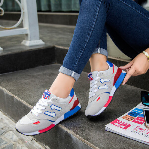 新百伦阿迪 2017春季新款运动鞋女韩版潮百搭n字母学生板鞋平底跑步鞋