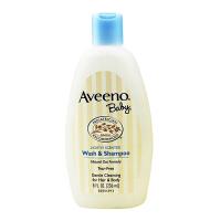 美国Aveeno Baby艾维诺宝宝天然燕麦洗发沐浴液236ml  【 保税区直发】