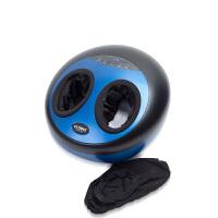 德国品牌凯伦诗 足疗机 腿部脚部按摩器 脚底按摩器 足部按摩器 按摩足疗仪带护腿F288 蓝黑色