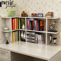 门扉 简易书柜 置物架 整理收纳小型简约桌上收纳迷你书架创意桌面简易置物架学生小书架办公桌 简易书架 创意书架