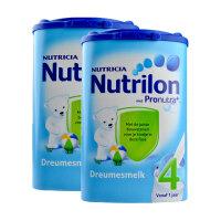 荷兰Nutrilon牛栏奶粉4段(12-24个月宝宝) 800g二罐装