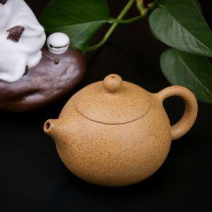 【只有一个】手工茶壶正宗宜兴名家周虎荣段泥西施紫砂壶