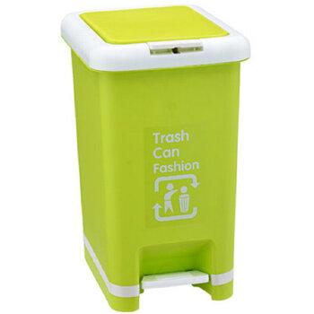 有盖环保清洁桶 卫生桶 脚踏手动垃圾桶 家庭用卫生间厨房垃圾桶 两