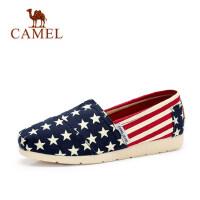 骆驼牌 女鞋 帆布鞋女平跟老北京布鞋学生韩版休闲鞋