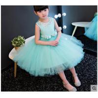 儿童礼服公主裙 婚纱蓬蓬裙 花童裙女童六一主持演出服