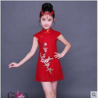 女童旗袍儿童连衣裙宝宝小女孩中国风童装公主裙儿童服装支持礼品卡支付