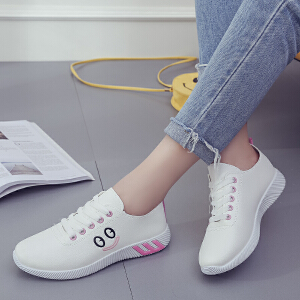 妃枫霏夏季新款休闲鞋小白鞋韩版百搭单鞋厚底板鞋女鞋