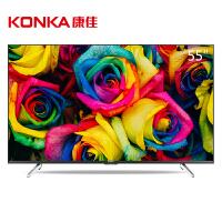 【当当自营】康佳(KONKA)A55U 55英寸 64位智能4K安卓平板LED液晶电视(黑色)