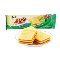 [当当自营] 康师傅 3+2甜苏打清新柠檬味125g