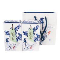 青花舞茶 台湾阿里山高山茶纸质礼盒装150g*2入 台湾进口乌龙茶茶叶