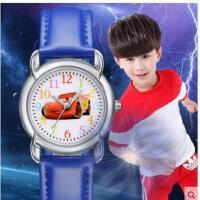 可爱卡通汽车表盘数字刻度手表男女童小学生石英表手表夜光防水儿童手表