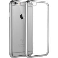 【当当自营】 ESR亿色 iPhone6/6s手机壳 电镀边框软壳 初色晶耀系列 流星银