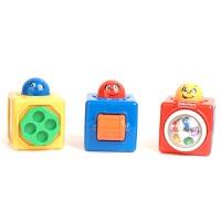 [当当自营]Fisher Price 费雪 叠叠方积木 婴儿玩具 74121