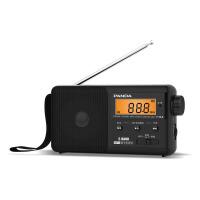 【当当自营】 熊猫/PANDA T-04黑色 老人FM收音机便携式TF插卡MP3广播放器半导体充电 黑色