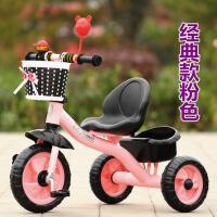 儿童三轮车脚踏车小孩单车1-3-5岁手推车男女宝宝自行车