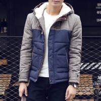 秋冬新款男士韩版修身棉衣男时尚休闲棉袄棉服外套