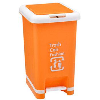 脚踏手动两用垃圾桶 有盖垃圾桶