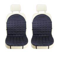 冬季车用12V双座垫汽车加热坐垫 车载座椅垫电热暖垫靠垫通用