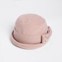 冬季帽子女士淑女帽帽礼帽盆帽秋冬天保暖女式