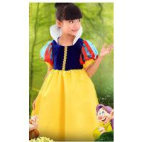 白雪公主裙儿童礼服裙夏蓬蓬裙女童婚纱灰姑娘演出服中大童