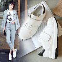 2017ZHR秋季内增高小白鞋女2017新款韩版厚底女鞋百搭真皮休闲鞋单鞋G113