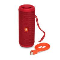JBL Flip4便携蓝牙音箱无线小音响重低音HIFI 防水户外无线音箱 红
