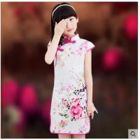 儿童旗袍新款小女孩唐装复古连衣裙幼儿中国风碎花裙子儿童服装支持礼品卡支付