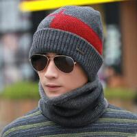 防风帽冬季青年户外韩版时尚护耳男士套头帽子潮针织毛线帽保暖加厚
