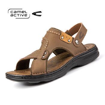 骆驼动感(camel active)2016年露趾简约凉鞋沙滩鞋