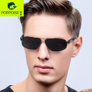海豚太阳镜 新款时尚偏光镜 男士司机钓鱼蛤蟆墨镜驾驶镜PP-3356