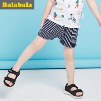 巴拉巴拉男童短裤幼童男孩童裤2017夏装新款裤子男宝宝休闲裤