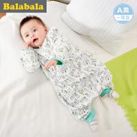 巴拉巴拉新生儿 婴童睡袋宝宝男童女童2017夏新款婴童中性防踢被