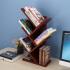 御目 书架 书房桌上个性树形小书架办公桌面多层木质架子儿童学生现代简约落地小书柜满额减限时抢礼品卡创意家具