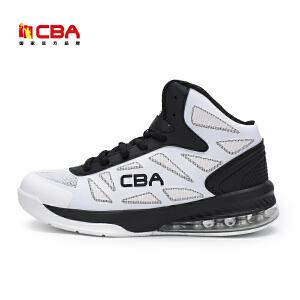 CBA男子篮球鞋 2017年新款篮球鞋男高帮战靴室内外专业减震比赛运动鞋