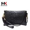 莫尔克(MERKEL)新款女包单肩包手拿包时尚鳄鱼纹斜跨手包手机包休闲零钱包