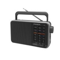 【当当自营】 熊猫/PANDA T-13三波段便携式指针式半导体收音机老人调频广播