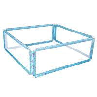 【当当自营】萌宝(Cutebaby)垂直升降床护栏围栏四面 1.8*2米床垫 蓝色