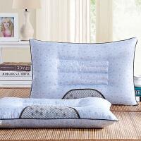 御目 决明子枕头 新款舒适夏季加大珠光面料定型安神保健成人学生定型枕芯枕套家居床上用品