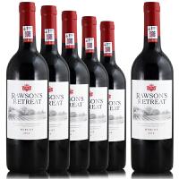 奔富洛神山庄梅洛红葡萄酒 澳洲 原瓶进口2015年整箱 750ml*6