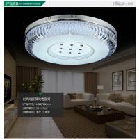 NVC 雷士照明 led水晶吸顶灯卧室客厅灯圆形灯具灯饰现代大气