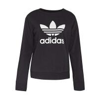 Adidas阿迪达斯  三叶草女子运动休闲卫衣套头衫  AY8117  现