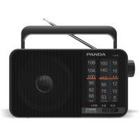 【当当自营】 熊猫/PANDA T-15三波段便携式指针式半导体收音机老人调频广播