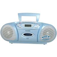 【当当自营】熊猫(PANDA) 6608台式复读机台式复读收录机磁带复读机u盘MP3播放器播放机插卡英语学习机