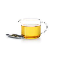 尚明加厚公道杯玻璃玻璃茶漏分茶器 高硼硅耐热玻璃纯手工茶海杯功夫茶具 CP11/300ML