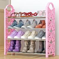 蜗家铁艺简易鞋架 多层收纳鞋柜简约经济型组装防尘鞋架子H164