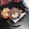 茉蒂菲莉 斜挎包 2017新款时尚韩版可爱松鼠小圆包单肩斜跨包女链条包钱包卡包化妆包儿童包