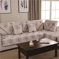 御目 沙发垫 法式风情四季通用�W缝布艺沙发巾沙发套坐垫椅垫靠垫抱枕垫子家居用品