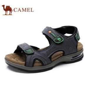 camel骆驼凉鞋 2017夏季新品 日常户外休闲男士凉鞋 露趾沙滩鞋男鞋